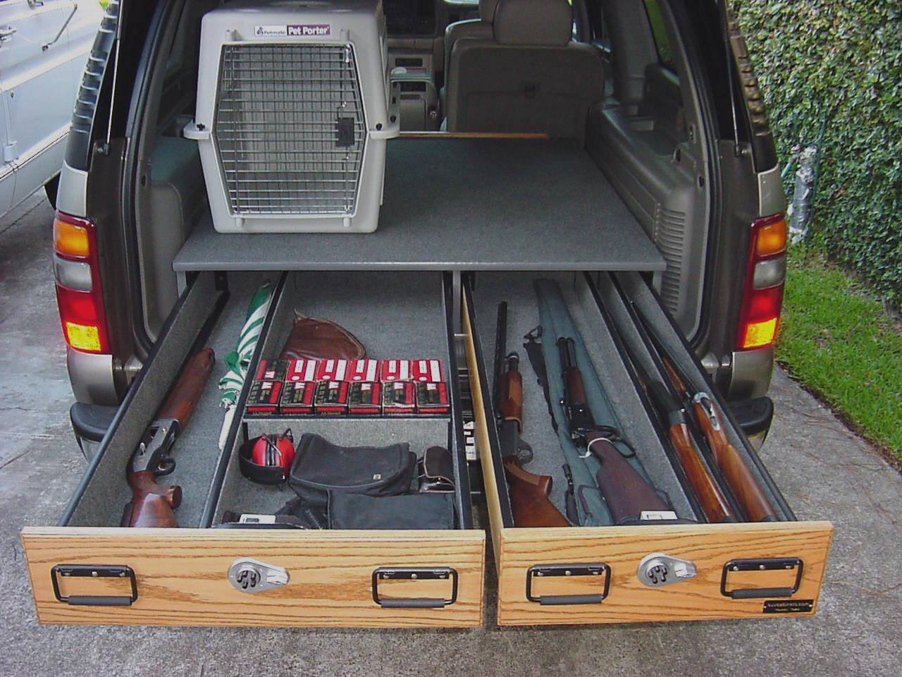 Складной ящик для багажника своими руками
