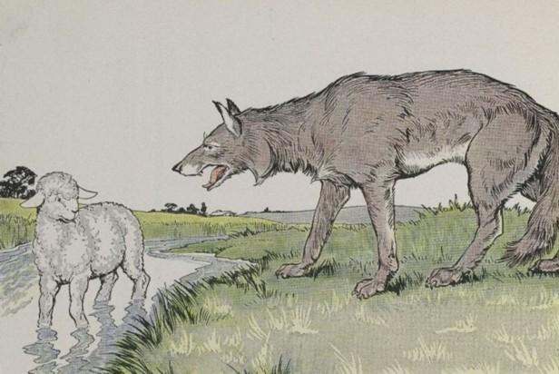 Леонід Глібов, байка «Вовк та ягня»