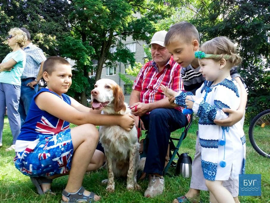 Із 30 собак мисливських порід, перемогу у міжрайонній виставці здобув курцхаар із кличкою Ролл