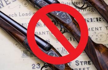 заборона полювання