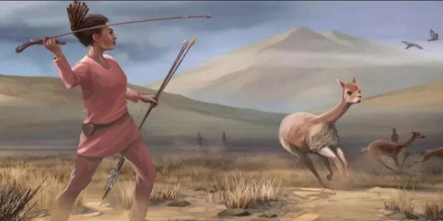 Реконструкція полювання древніх жителів Америки (Фото: UC Davis IET Academic Technology Services)